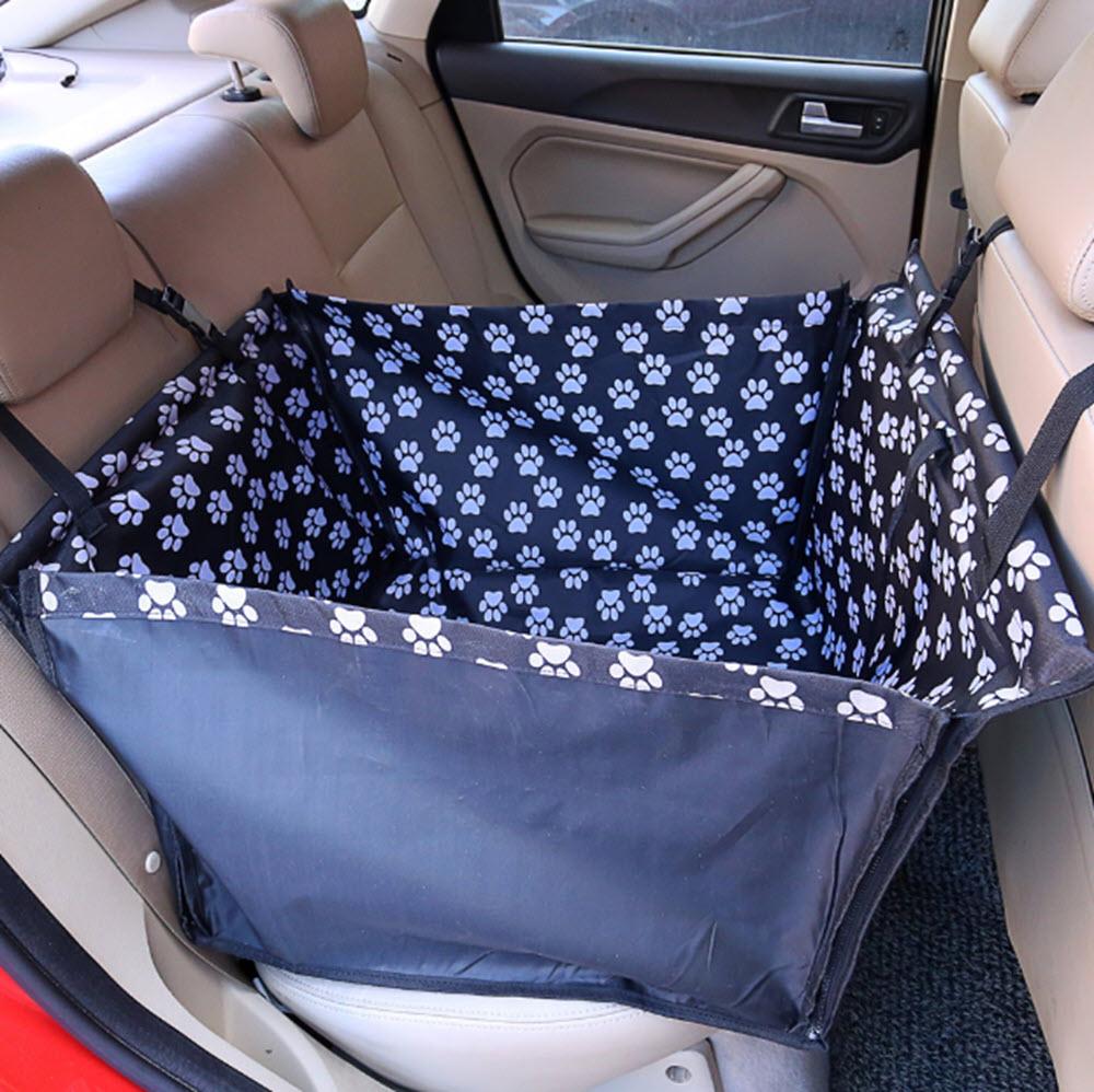 Waterproof Back-Seat Dog Hammock7