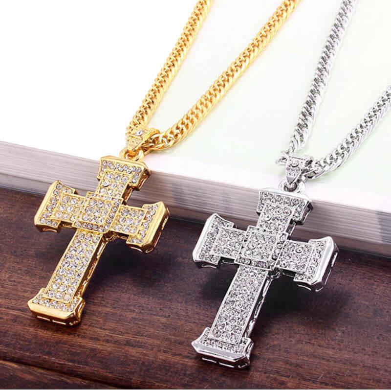 Cross Crystal Pendant1