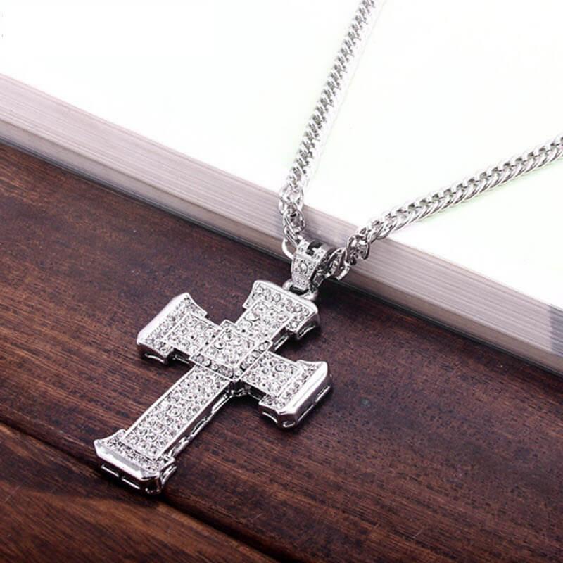 Cross Crystal Pendant9