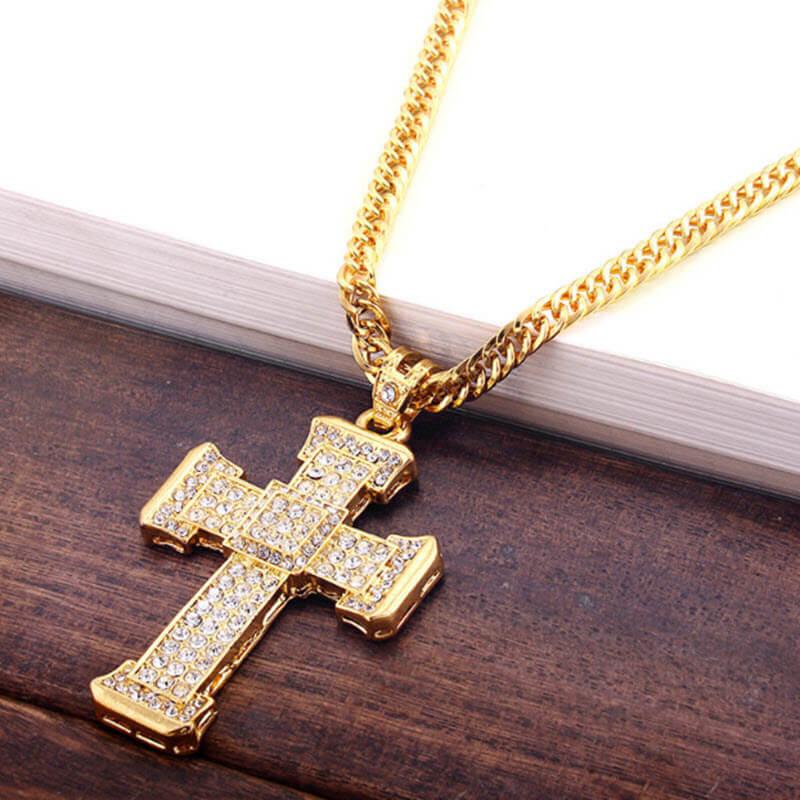 Cross Crystal Pendant10