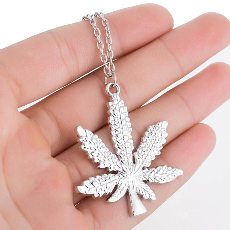 Marijuana Diamond Necklace11