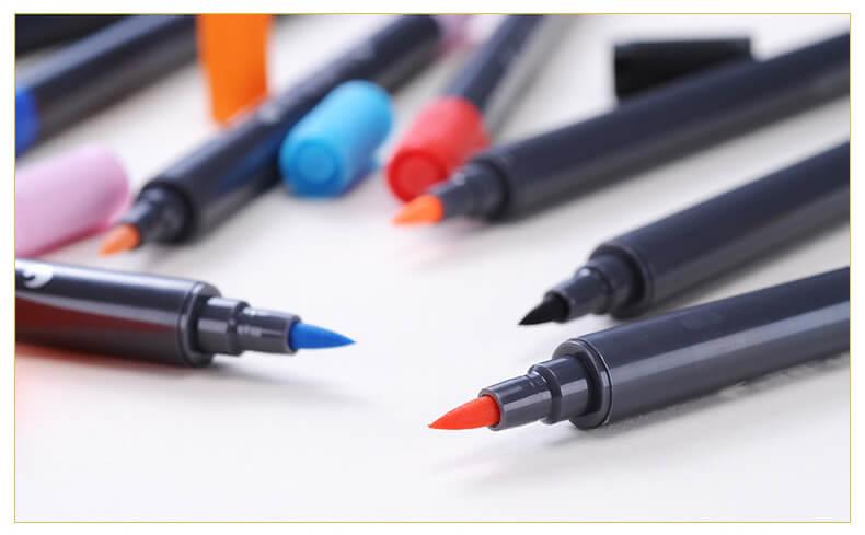 STA Aquarelle Coloring Brush Pens