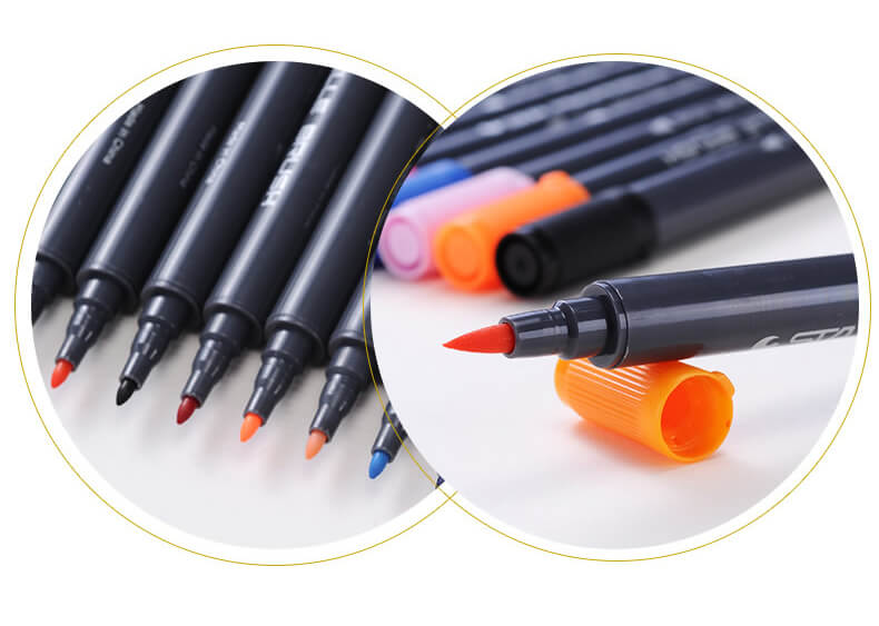 STA Aquarelle Coloring Brush Pens10