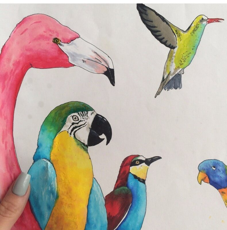 STA Aquarelle Coloring Brush Pens6