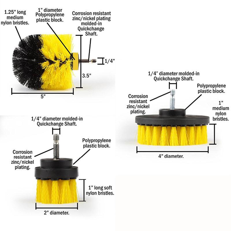 Power Scrubber Brush (3 PCS)9