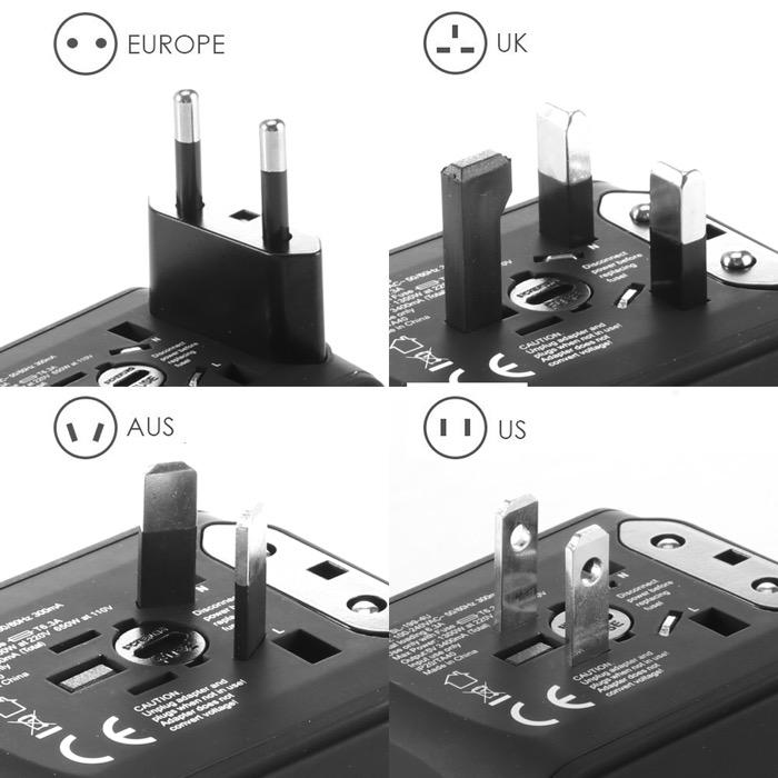 Universal Travel Socket