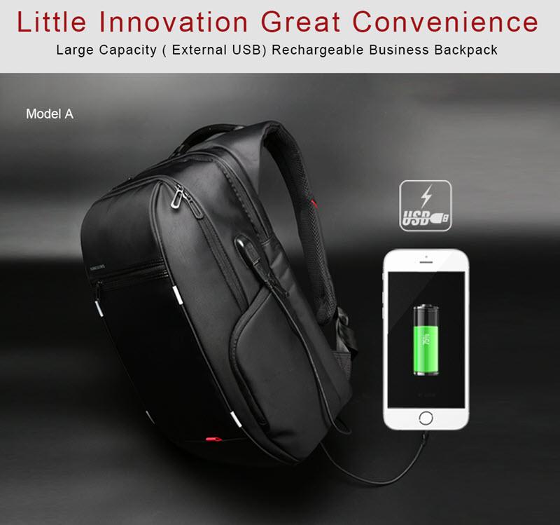 Anti-Theft USB Cushion Backpack1