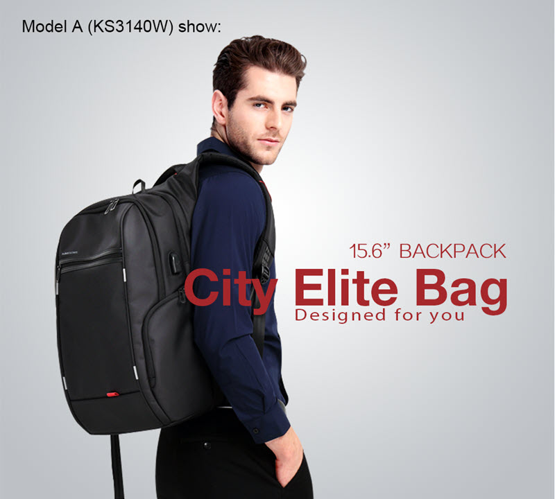 Anti-Theft USB Cushion Backpack3