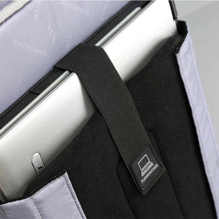 Anti-Theft USB Cushion Backpack5
