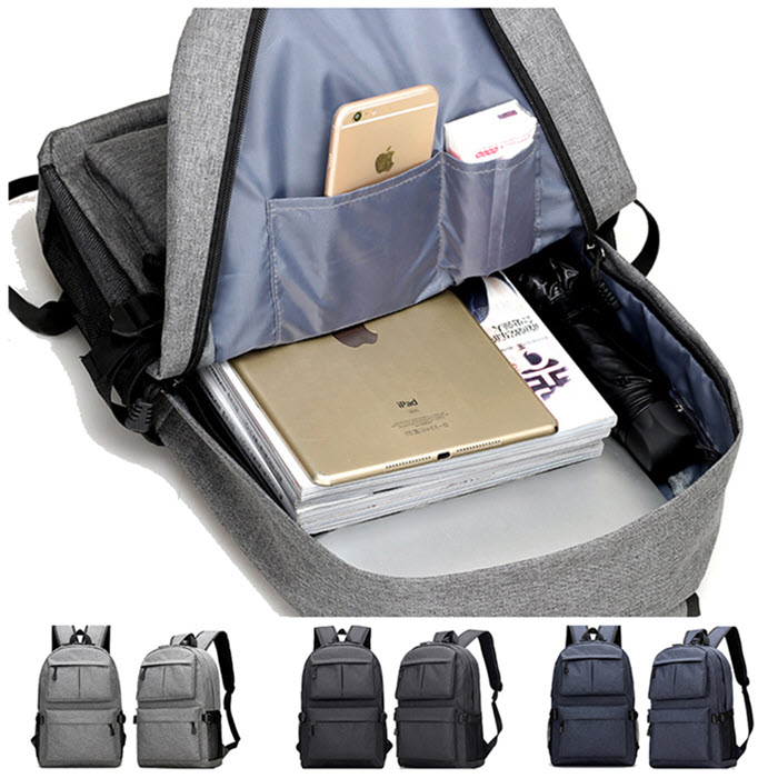 USB School Laptop Backpack5