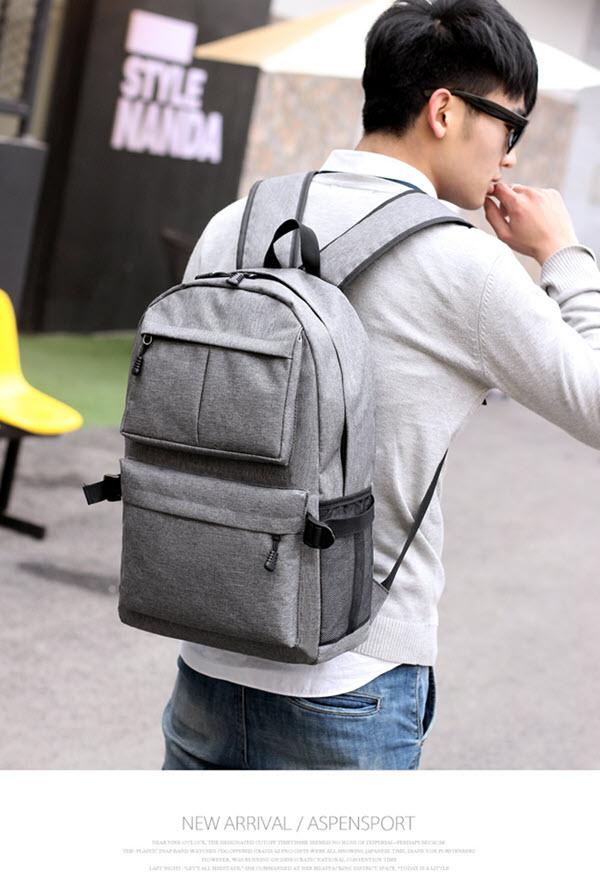 USB School Laptop Backpack14
