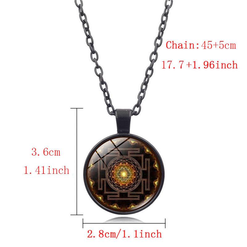 Sacred Sri Yantra Necklace5