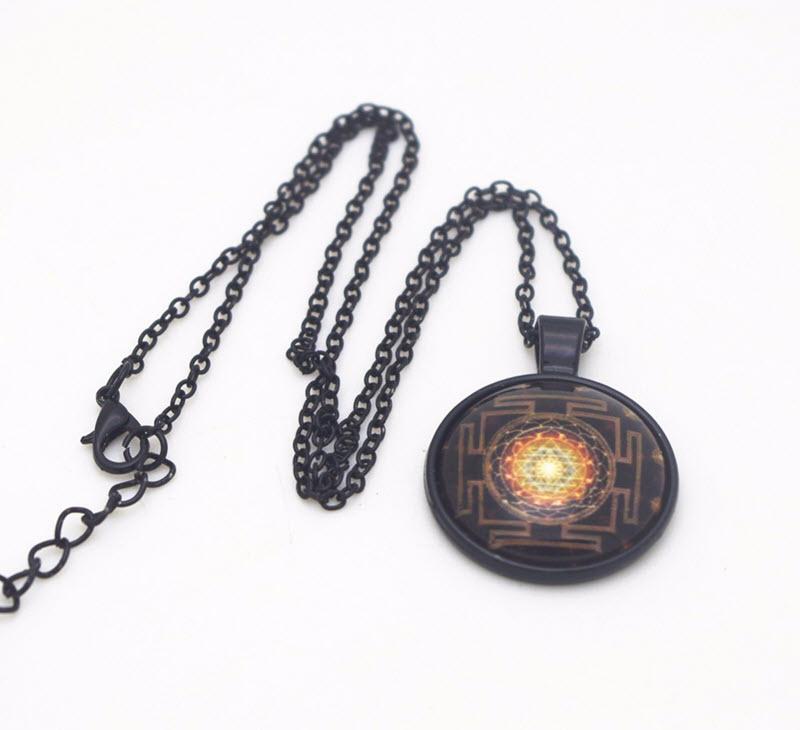 Sacred Sri Yantra Necklace7