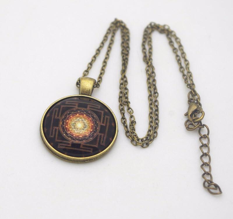 Sacred Sri Yantra Necklace8