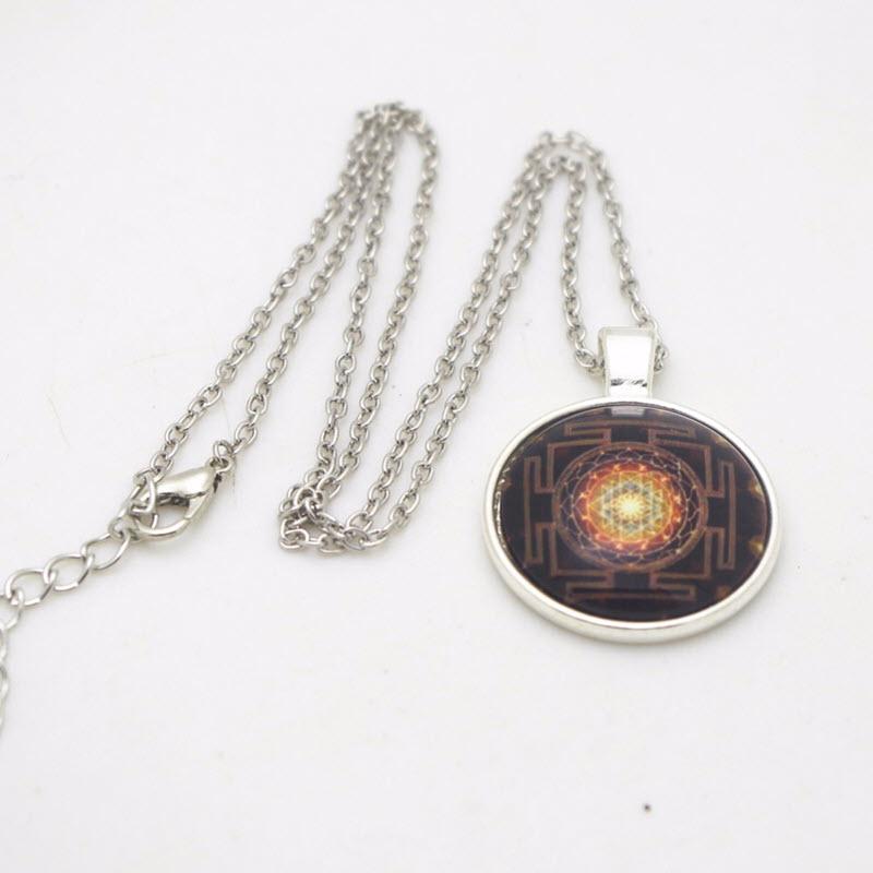 Sacred Sri Yantra Necklace9