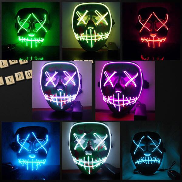 Glow LED Purge Mask1