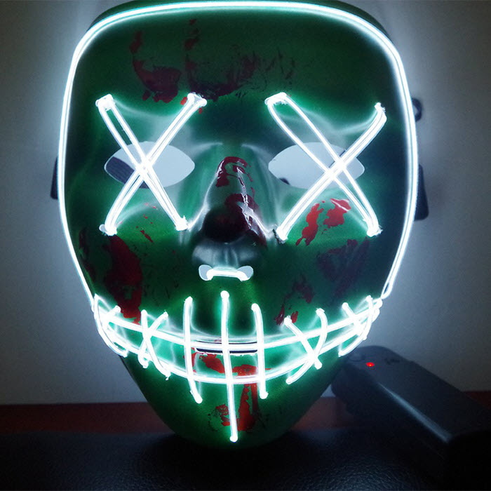 Glow LED Purge Mask2