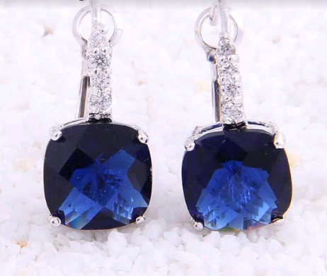 and tanzanite effy gold p white earrings diamond