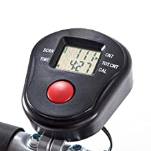 LCD digital time to keep your fitness on track