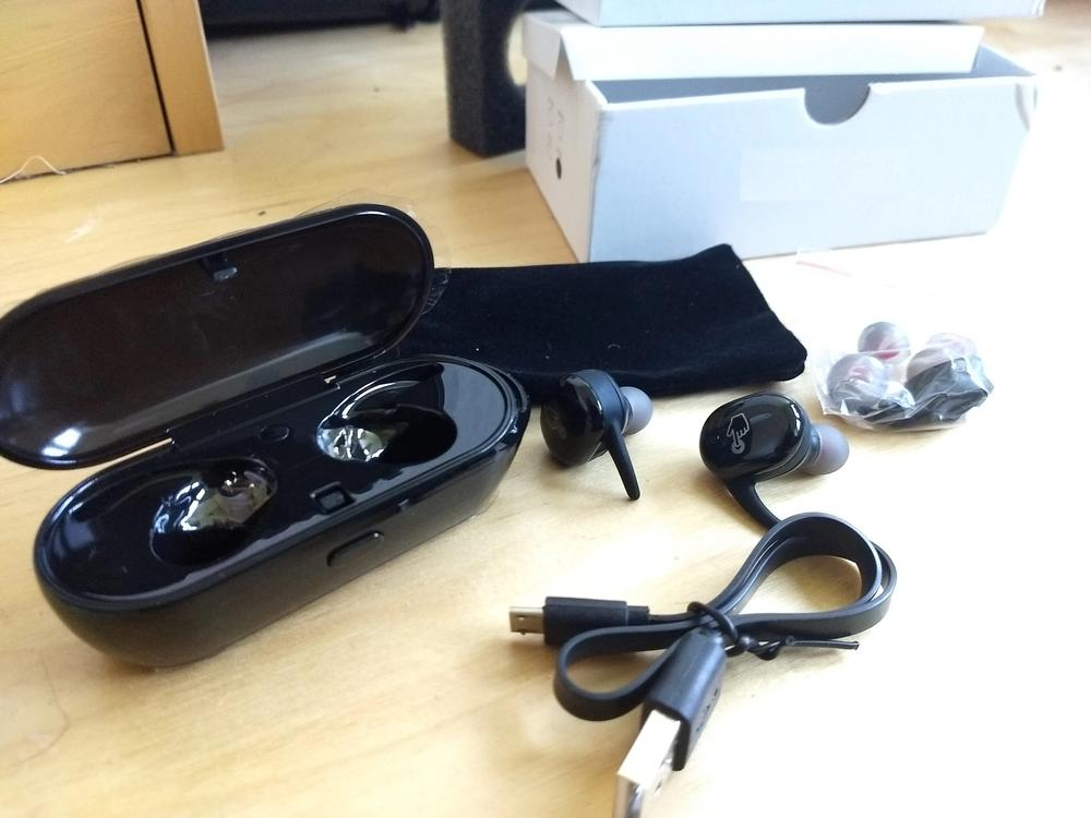 TOUCH TWO Bluetooth 5 0 TWS Mini Wireless Earbuds