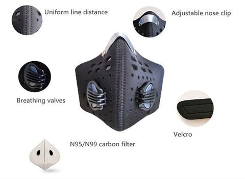 N95 Activated Carbon Face Mask