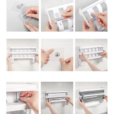 Multifunction Film Storage Rack (Nail free)