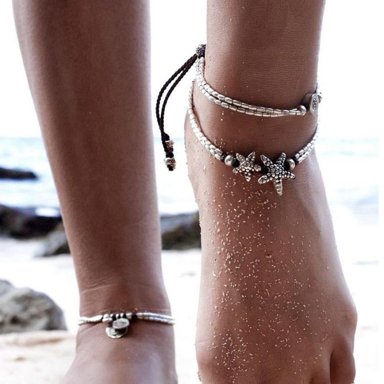 anklet boutique best on ankle cute bracelet pinterest bracelets cool jewelry leaf foot fashion images