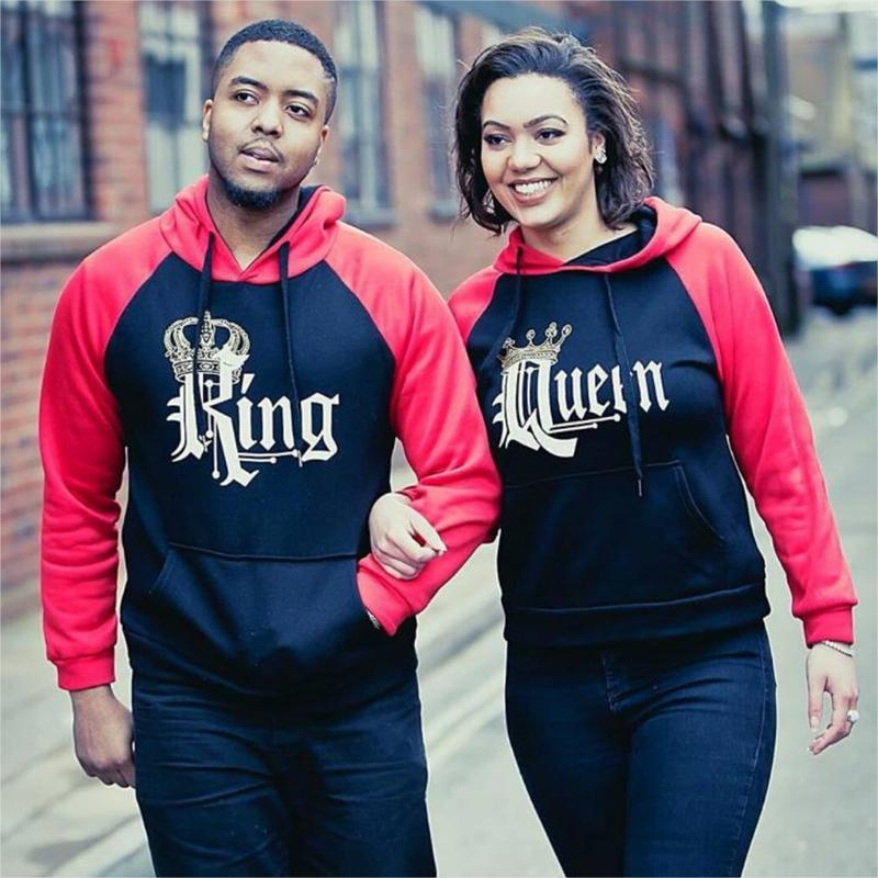 f4f589623a Royal - King Queen Hoodies