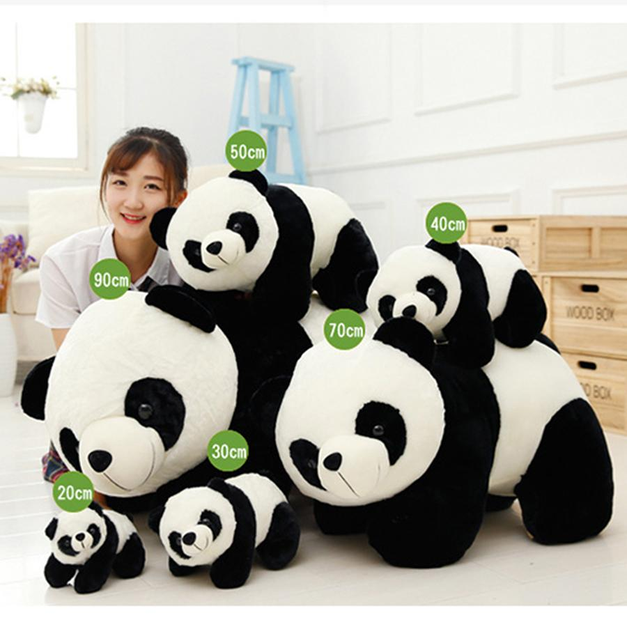 Cute Baby Big Giant Panda Bear Plush Stuffed Animal