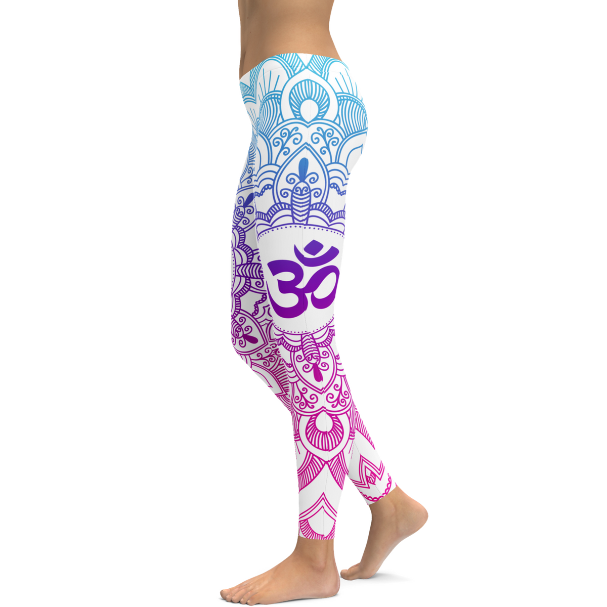 new product outlet on sale amazing selection Womens Yoga Leggings - 3D Printed OM