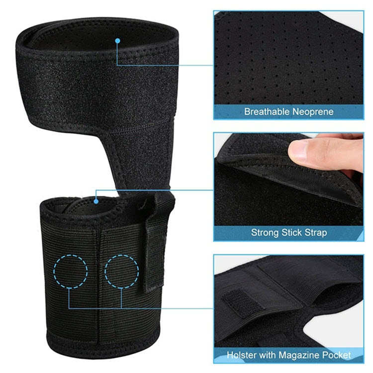 Multi Pocketed Ankle Holster12