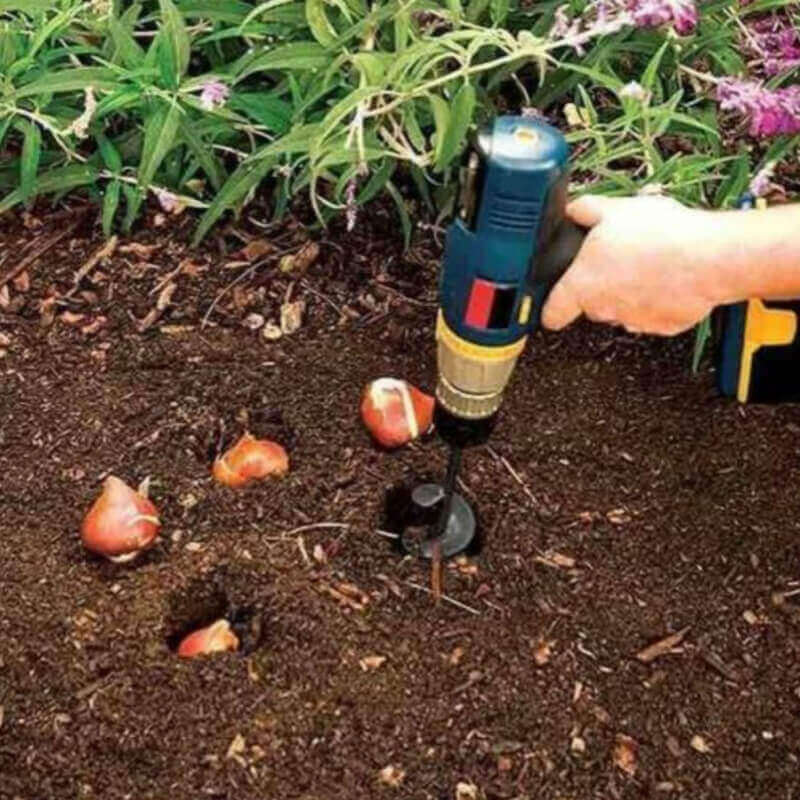 Soil Shover™ - Attach To Drill & Digg5