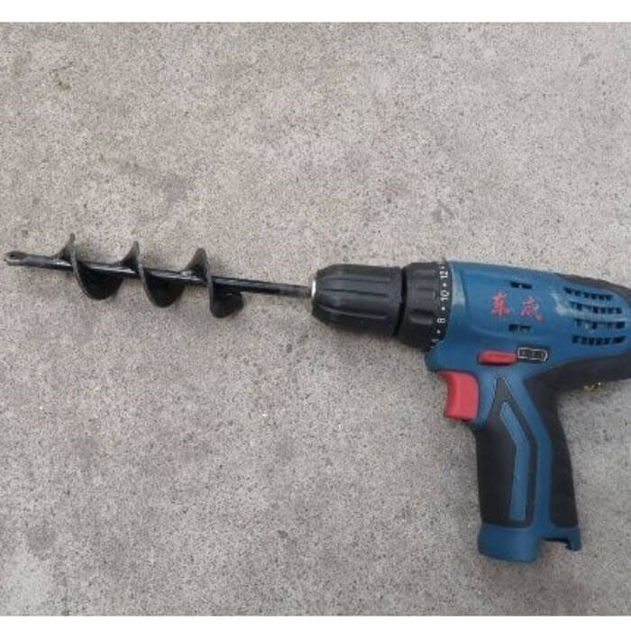 Soil Shover™ - Attach To Drill & Digg7