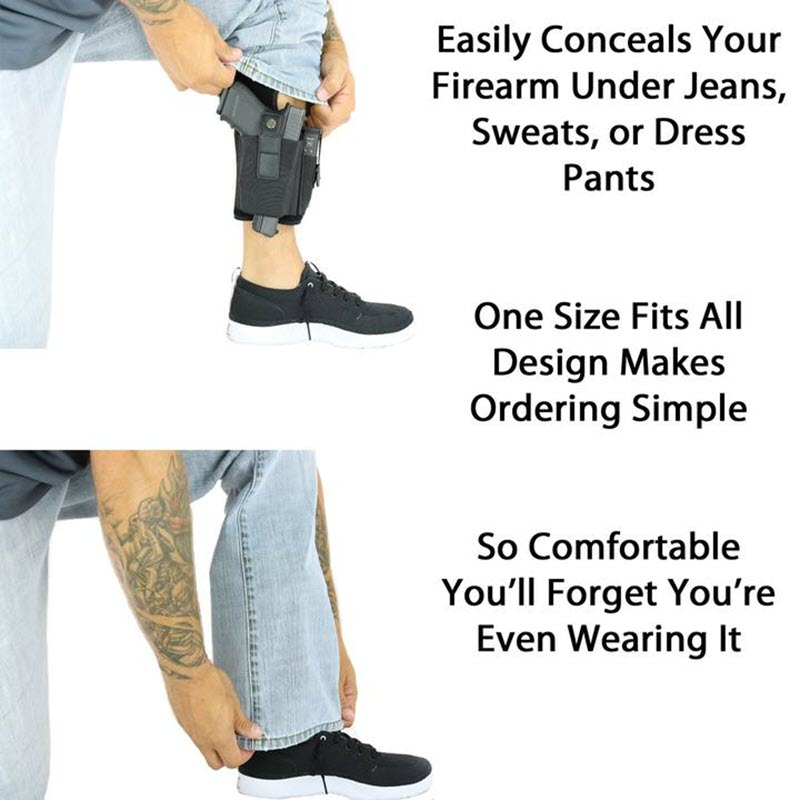 Multi Pocketed Ankle Holster5