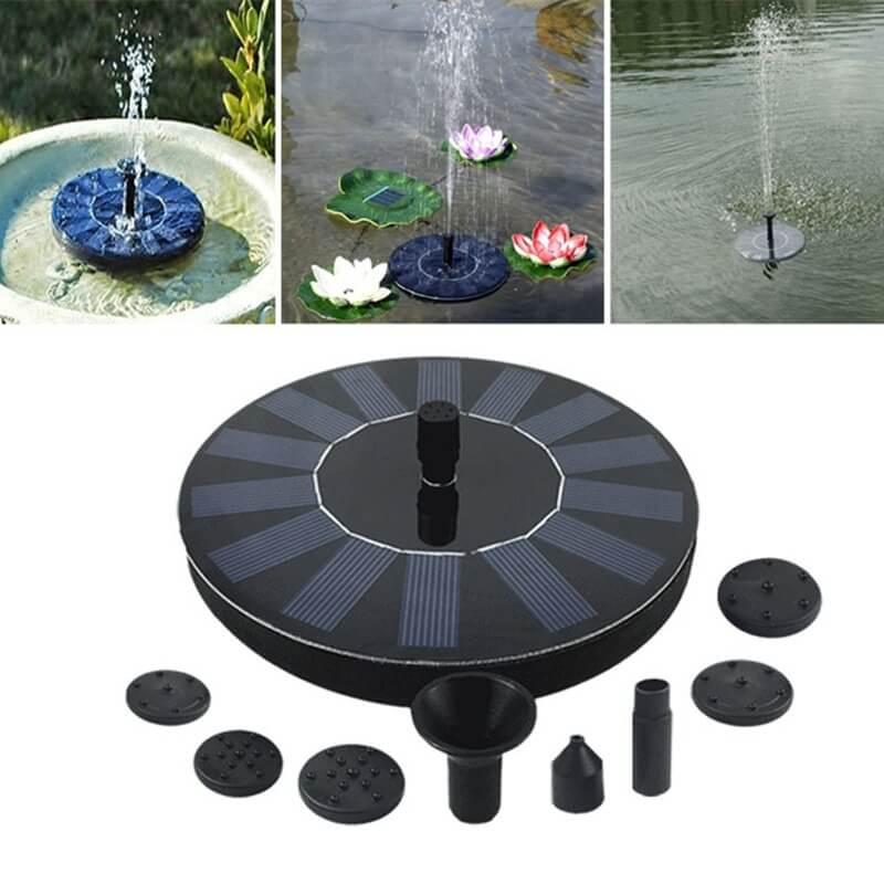 Solar Powered Fountain Pump2