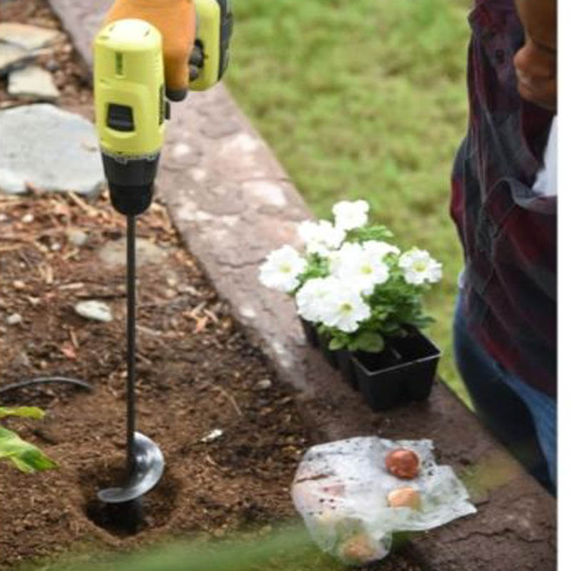 Soil Shover™ - Attach To Drill & Digg3
