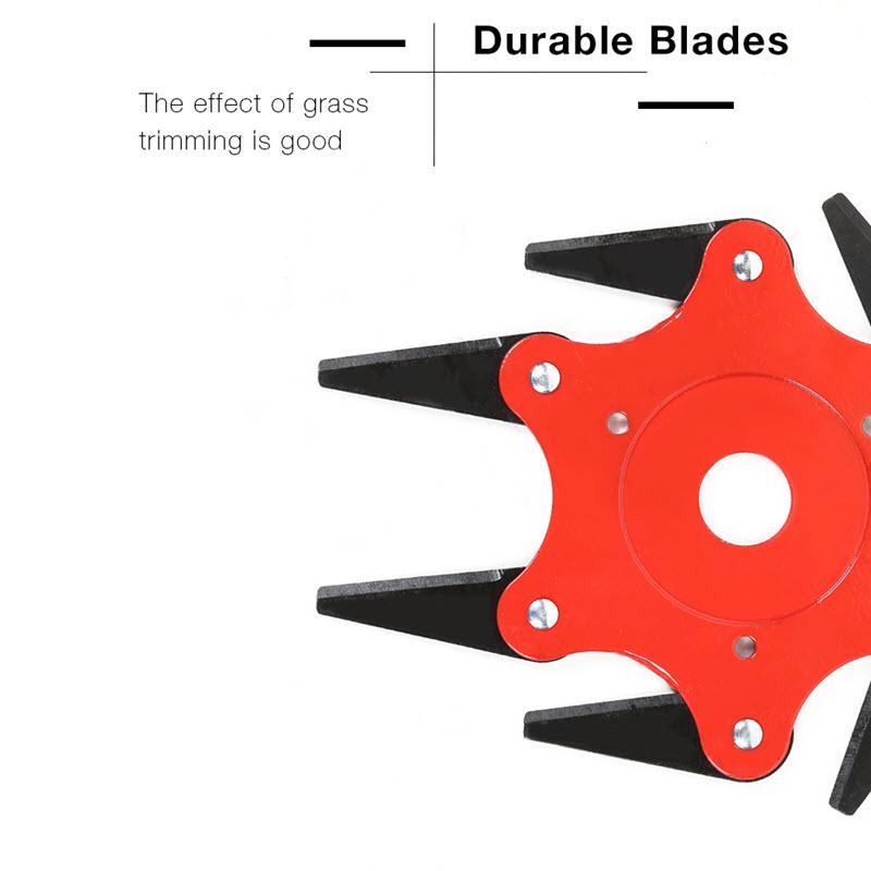 6 Steel Razor Blade Lawn Mower9