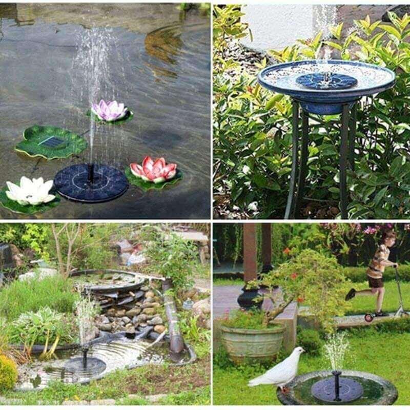 Solar Powered Fountain Pump1