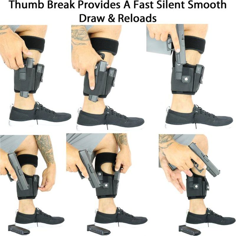 Multi Pocketed Ankle Holster6