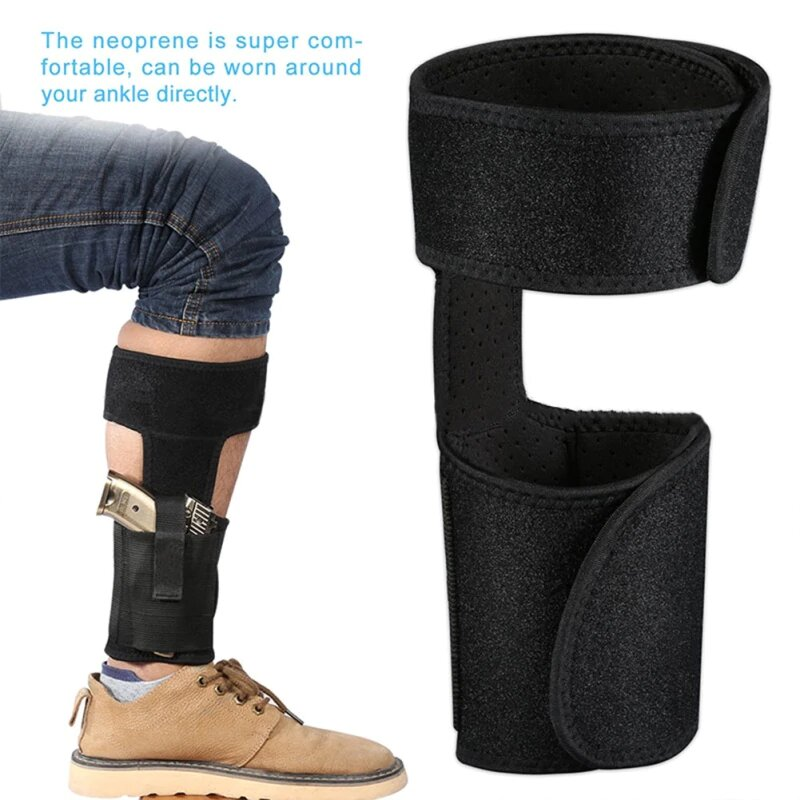 Multi Pocketed Ankle Holster11