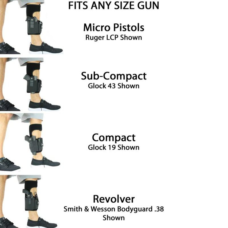 Multi Pocketed Ankle Holster7