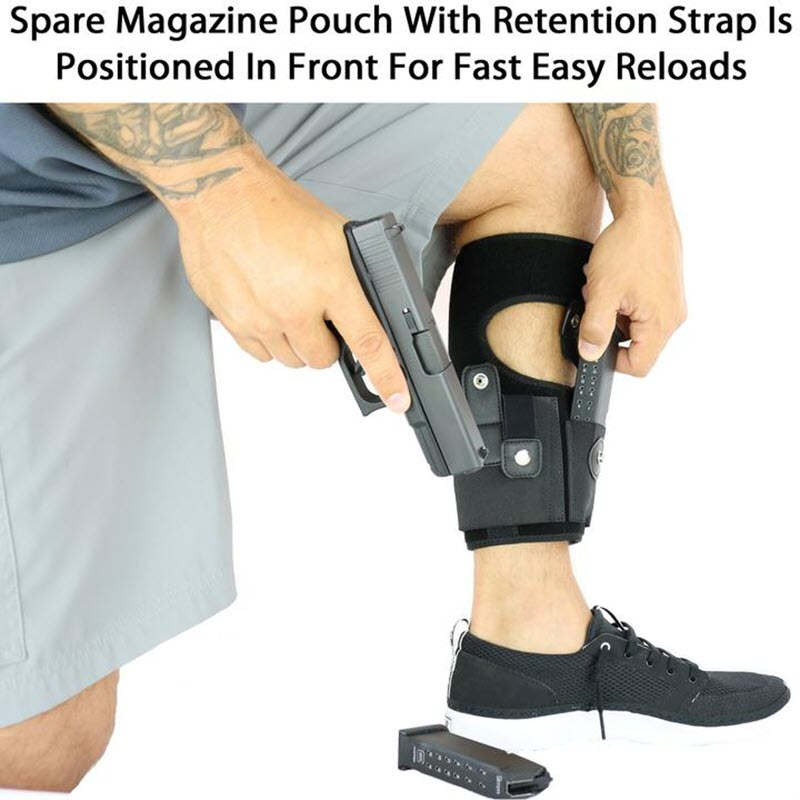 Multi Pocketed Ankle Holster4