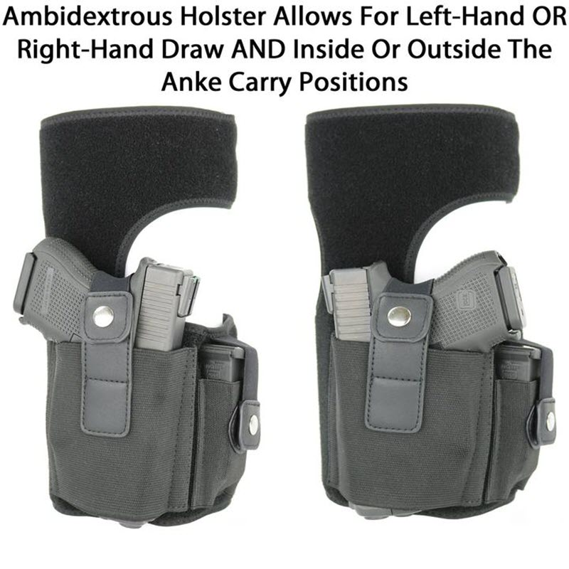 Multi Pocketed Ankle Holster3