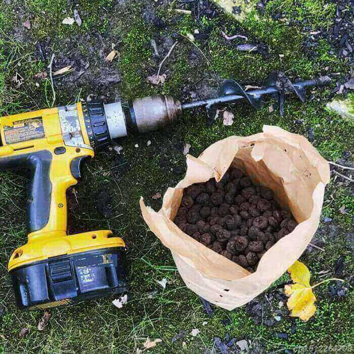 Soil Shover™ - Attach To Drill & Digg1