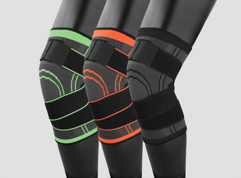 a9fe61a38a 3D Pressurized Knee Support Sleeve