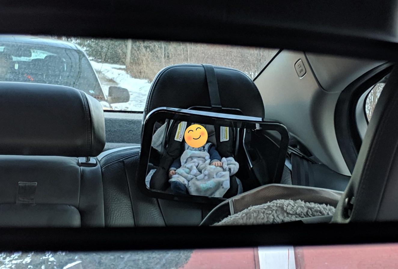 Premium Shatterproof Safety Baby Car Mirror