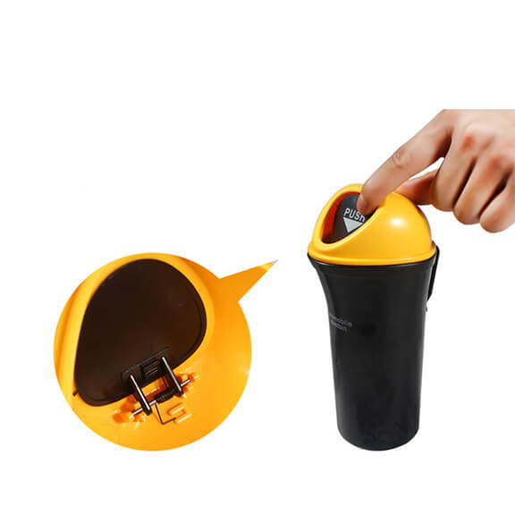 CarHero Trash Can with Clip , Trash Can with Clip