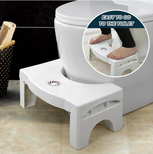 Folding Multi Functional Toilet Stool Helps You