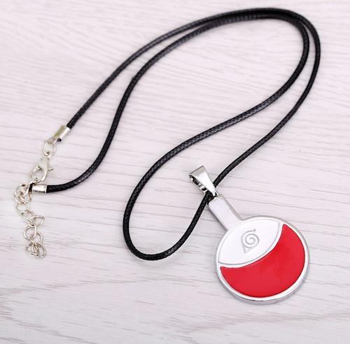 Naruto Uchiha Symbol Necklace