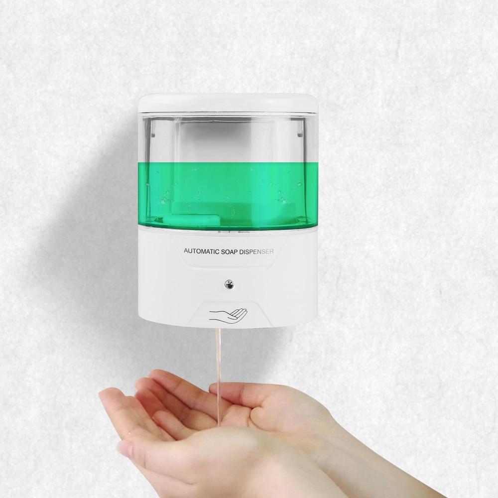 Soap dispenser electronic sensor suction cup soap dispenser